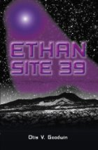 Book cover--purple light hitting a black and white planet.