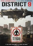 "Alien spaceship over ""no humans allowed"" poster."