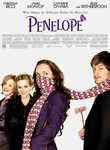 Movie poster for Penelope--girl wearing a scarf around her face.