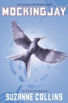 White bird on a blue background.