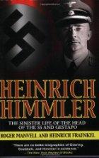 Nazi flag and photo of Himmler.