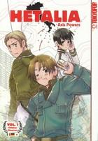 Three manga characters.