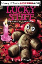 Voodoo doll and candle.