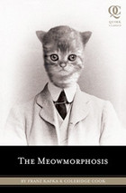 Cat head in suit.