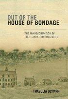 Plantation house and slave houses.