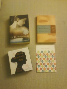 3 books and a card
