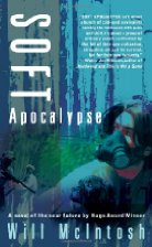 Blue/green cover featuring a man wearing a gas mask.