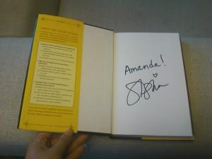 Sarah Silverman's signature