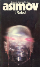 Image of a see-through robot with red eyes.  Blurred like it is in motion. It is on a black background, and the book's title and author are in white text at the top.
