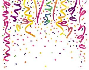 Image of confetti