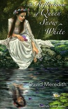 Painting of a woman in a white dress next to a pond.