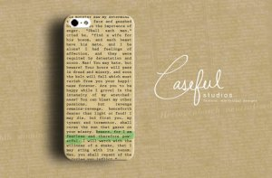 book page iphone case