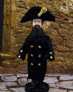 Handcrafted statue of Javert
