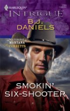 Book Review: Smokin' Six Shooter by B.J. Daniels (Series, #4)
