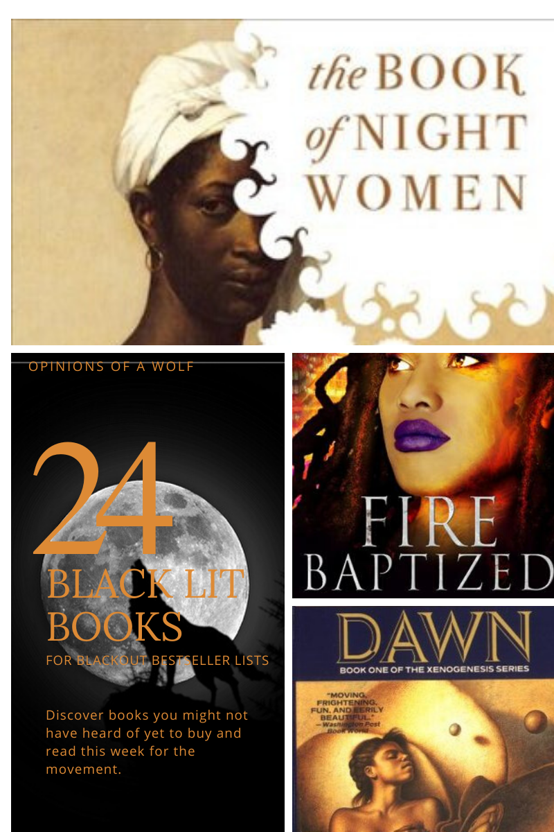 24 Black Lit Books Opinions of a Wolf