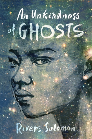 Book cover depicting a Black woman's face set against a starry sky.