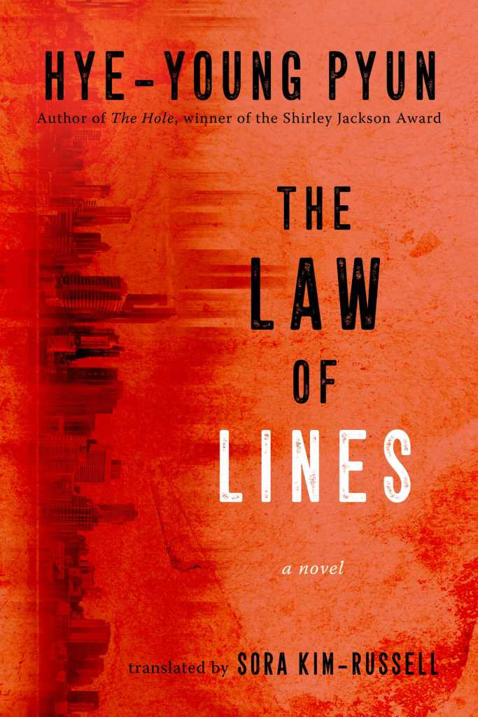 The cover of the book The Law of Lines.