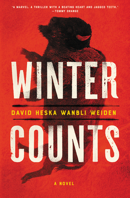"Cover of the book ""Winter Counts."""