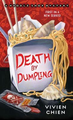 """Cover of the book """"Death by Dumpling."""""""